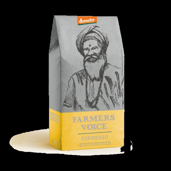 Farmers Voice - Indien Espresso - DEMETER
